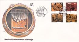 Venda 1981 Musical Instruments FDC - Venda