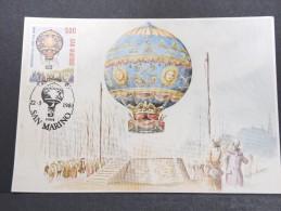 MONTGOLFIERES - Détaillons Collection De Carte Maximum - A Voir - Lot N° 10935
