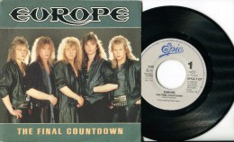 "Europe""45t Vinyle""The Final Countdown"" - Hard Rock & Metal"