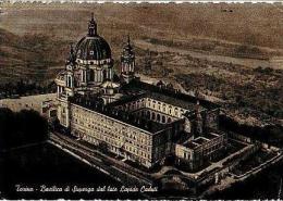 Torino     H1048     Basilica Di Superga Dal Lato Lapidi Caduci         ( Voir Timbre ) - Churches