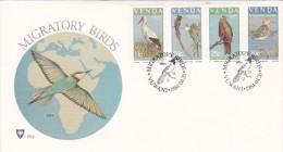 Venda 1984 Migratoey Birds FDC - Venda
