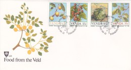 Venda 1985 Food From The Weld FDC - Venda