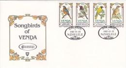 Venda 1985 Songbirds Of Venda FDC - Venda