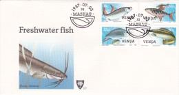 Venda 1987 Freshwater Fish FDC - Venda