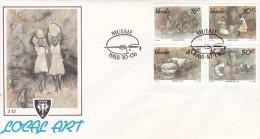 Venda 1988 Local Art FDC - Venda