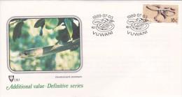 Venda 1989 Additional Value Definitive Dendroaspis Polylepis FDC - Venda