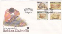 Venda 1989 Traditional Kitchenware FDC - Venda