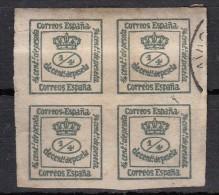 Espagne Couronne Royale  YT N°172  4/4 Vert Foncé - 1873-74 Regentschaft