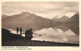 - Pays Divers - Ref- F791 - Groenland Nord - Au Declin Du Jour - Aftenstemning -  Carte  Bon Etat - - Greenland