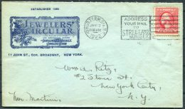 1922 USA Hud. Term. Station NYC Jewellers' Circular Illustrated Advertising Cover - Ritz - United States