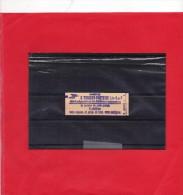 Carnet Sabine 5 X 1,30 Rouge N°2059C1A Gomme Mate. (cote 24€ ) - Libretas