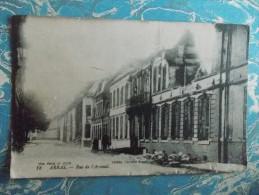 Cpa ARRAS - Rue De L'Arsenal Pendant La Guerre - - Arras