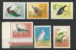 VIET NAM Du NORD - YVERT N°333/338  NEUFS - OISEAUX - COTE = 45 EURO - Viêt-Nam