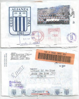 Peru PSE Alianza Lima Football Club 3S80 Red Meter Uprated 9S20 Registered To Italy 8jun2006 - Equipos Famosos