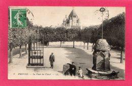77 SEINE-et-MARNE PROVINS, La Place Du Châtel, Animée, 1915, (L. L.) - Provins