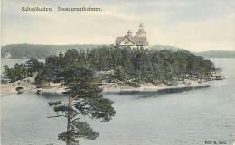 - Pays Divers - Ref- F779 - Suede - Sweden - Saltsjobaden - Restaurantholmen - Carte Bon Etat - - Suède