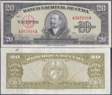 1949-BK-29 CUBA 20$ 1949 XF. ANTONIO MACEO. - Cuba