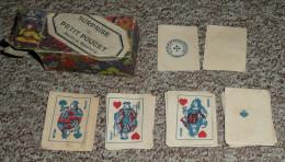 Rare Ancien Jeu De 32 Petites Cartes, Incomplet 30/32, Imagerie Dauphinoise, Boite Surprise Du Petit Poucet - 32 Cartes