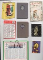 LOT DE 11 CALENDRIERS PUBLICITAIRES - Kalenders