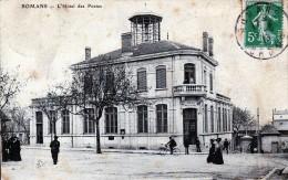 26 Romans  L'Hôtel Des Postes - Romans Sur Isere
