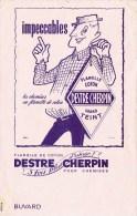 """Buvard """" Flanelle De Coton DESTRE CHERPIN """" 3 Fois Plus D'usage ! - Buvards, Protège-cahiers Illustrés"""