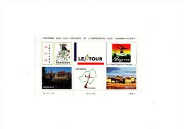 Cyclisme - Tour De France Cycliste 1994 - Trélissac - Périgord - Cycling  (bloc De Vignettes) - Ciclismo