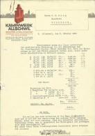 FAKTURA, RECHNUNG, INVOICE  --  KAMINWERK ALLSCHWIL  --  1928 - Schweiz