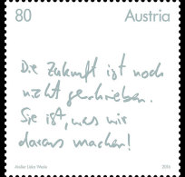 Austria 2016 - The Future Factor Mnh - 2011-... Ungebraucht