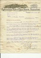 ,, JURASIT ,,  --  HYDRAULISCHE KALK & GIPS  FABRIK  BAERSCHWIL  --  1930 - Schweiz