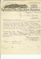 ,, JURASIT ,,  --  HYDRAULISCHE KALK & GIPS  FABRIK  BAERSCHWIL  --  1931 - Schweiz
