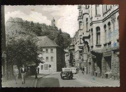 CPM Animée Allemagne GREIZ I. Thür Blick Zum Schloss Von Der Stalinstrasse - Greiz