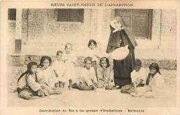 - Pays Divers - Ref- F766- Asie - Asia - Birmanie -burma - Distribution De Riz A Un Groupe D Orphelins - - Postcards