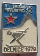 BIATHLON - Delnice 79. ( Croatie ) * Skiing Ski Esqui Schilauf Skilauf Ski Alpin Sci   PINS BADGES  P2 - Biathlon