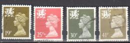 Great Britain Wales 1993 - Mi. 64-67 - Used - Regional Issues