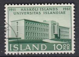 IJSLAND - Michel - 1961 - Nr 357A - Gest/Obl/Us - Gebraucht
