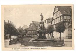 Colmar - Fontaine De Roesselmann Par Bartholdy - Colmar