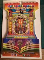 Calendario  Egitto In Papiro Con Illustrazioni Dell'antico Egitto. Completo Anno 2010 -Bellissimo -6 Lingue. - Calendari