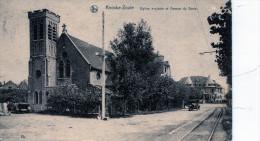 Knocke-Zoute. Eglise Anglaise Et Avenue Du Zoute - Knokke