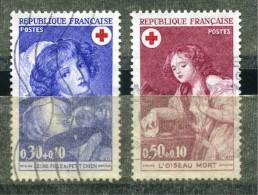 FRANCE 1971 – Croix-Rouge - Oblitérés N° Y&T 1700 Et 1701 - France