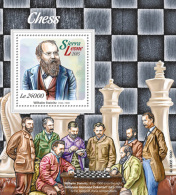 SIERRA LEONE 2015 - Chess S/S. Official Issue. - Chess