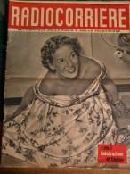 Rivista Sett.le N ° 2 - Gen.1954 - Radiocorriere - RAI-TV. Completo - 32 Pagine- Molte Foto Di Artisti E Pubblicità. - Riviste & Giornali