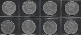 MONEDAS ESPAÑOLAS DE 1 PTAS.  PLATA - [ 1] …-1931 : Reino