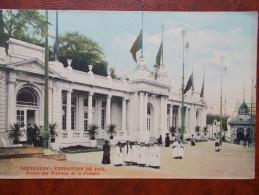 BELG - BRUXELLES - Exposition Universelle De 1910 - Palais Des Travaux De La Femme. - Expositions Universelles