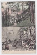 426i: Baden- Kunstkarte Burgruine Rauhenstein Im Helenenthal - Baden Bei Wien