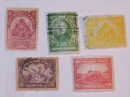 HAITI  1898-19XX    LOT# 1 - Haïti