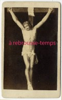 /4-en 1868 Namur-CDV -représentation Du Christ-croix-envoyé Par A. Courty? à Laure, Jeune Nonne- - Photos
