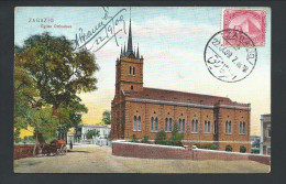 0. CPA - Afrique - Egypte - ZAGAZIG - Eglise Orthodoxe   // - Zagazig