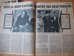 La Mort De Adolph Hitler Racontée Par Deux Témoins - Vecchi Documenti