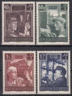 Österreich MiNr. 960/63 ** Wiederaufbau - 1945-.... 2. Republik