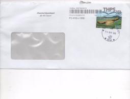 PRIVATPOST - BELEG  THÜRINGER POSTSERVICE  2015 - Private & Local Mails